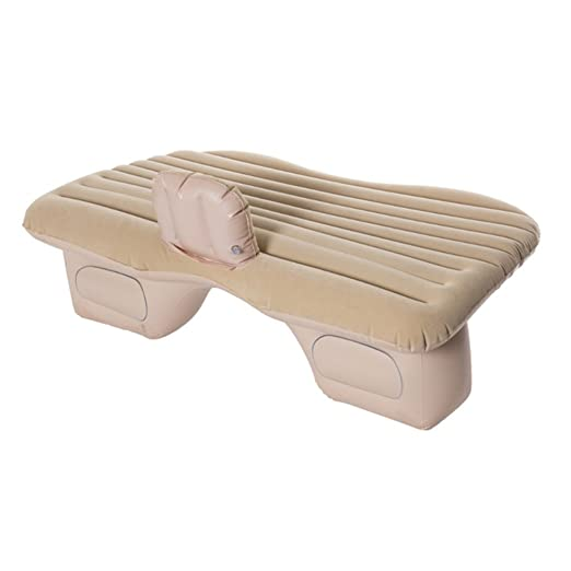 Amazon.com: ZCJB Car Bed Car Inflatable Bed Car Mattress PVC Flocking Car Inflatable Bed Car Shock Bed (Color : Cream): Home & Kitchen