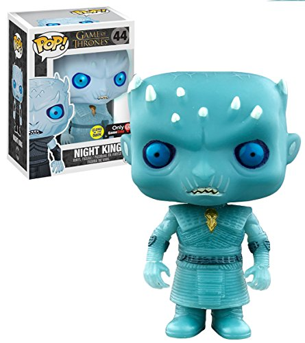 Funko - Figurine Game of Thrones - Night King Glow in the Dark Exclu Pop 10cm - 0849803092719