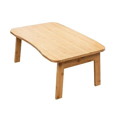 Study Table-SZQ SxsZQ Mesa de bambú Resistente Escritorio de la ...