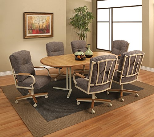 Wood Top Oval Extension Table (Impacterra WM54025047323+IP1602527923 Waimea Dining Set, 78