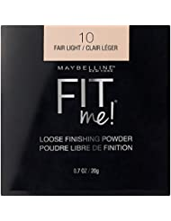 Maybelline New York Fit Me Loose Finishing Powder, Fair Light, 0.7 Ounce