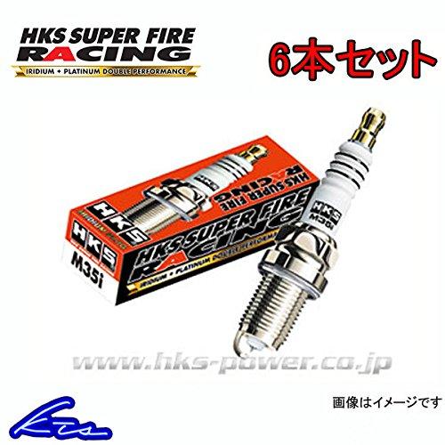 クレスタ 6本セット HKS SUPER FIRE RACING M40i PLUG JZX100 NGK8番相当 B077GKVQWT