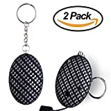 MRELEC 120dB Volume Personal Alarm Keychain [2-Pack], Self Defense Electronic Device Anti-Theft Anti-Rape Alarm for Student/Kids/Women/Elder/Night Workers