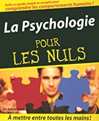 La Psychologie par Adam Cash