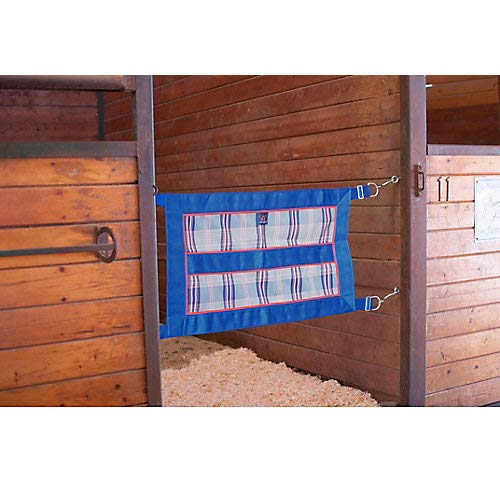 (Kensington Stall Guard for Horses — Designed to Keep Horse Securely in Stall in Style —  Adjustable Straps and Hardware Included)