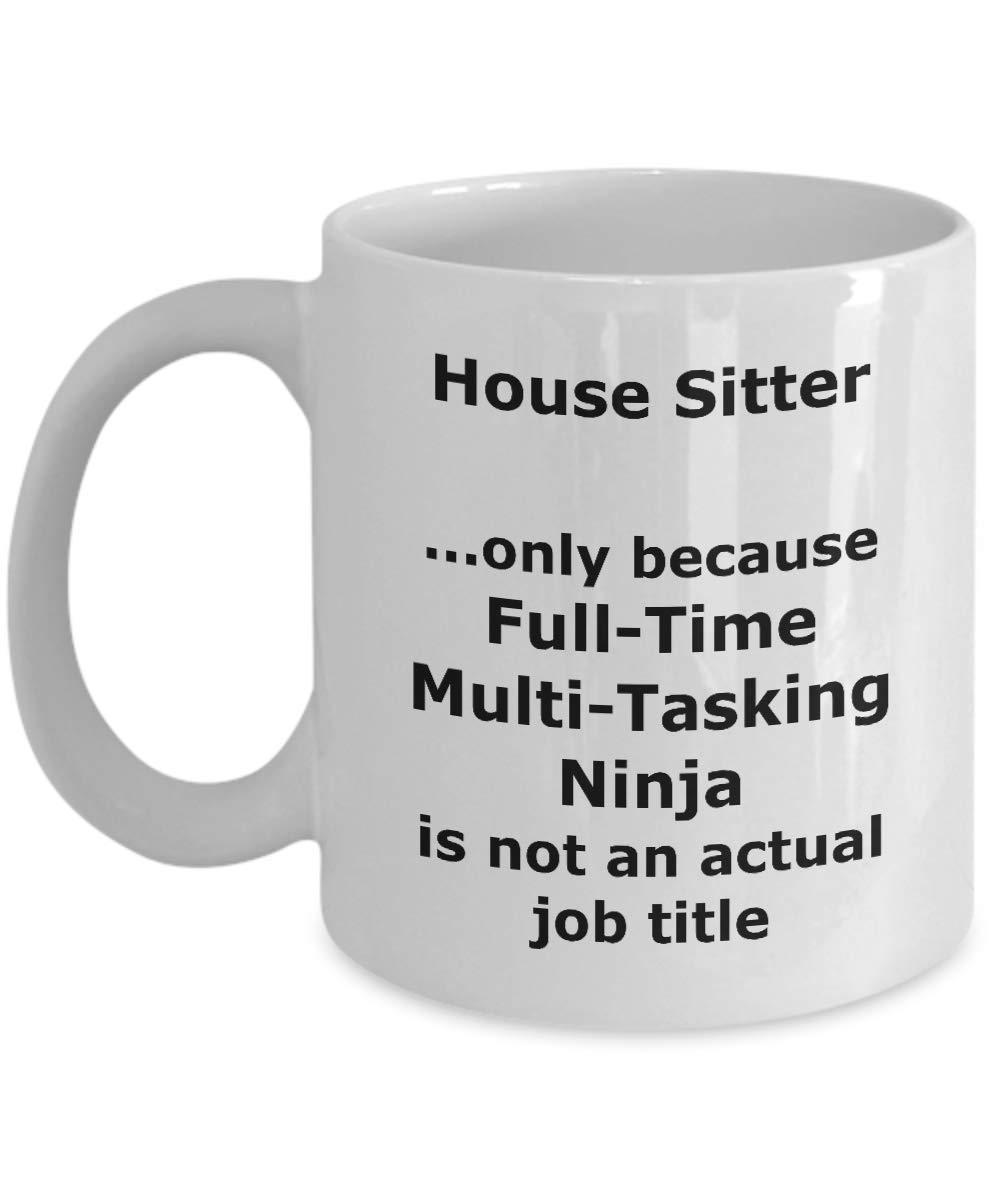Amazon.com: Ninja House Sitter Funny Gift Mug: Kitchen & Dining