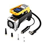 Air Compressor Tsumbay Portable Air Compressor Pump 12V 150 PSI Digital Tire Inflator with Auto Shut Off Gauge and Bright Flashlight, Air Pump for Car, Bikes, RV, Sport Balls and Other Inflatables