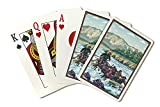 Whitewater Rafting (Playing Card Deck - 52 Card Poker Size with Jokers)