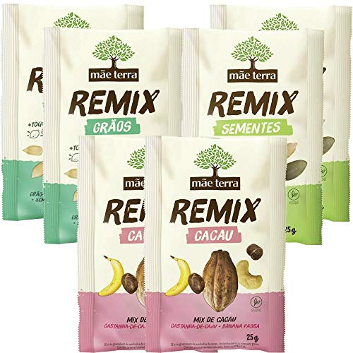 Kit Mãe Terra Remix Grãos E Sementes