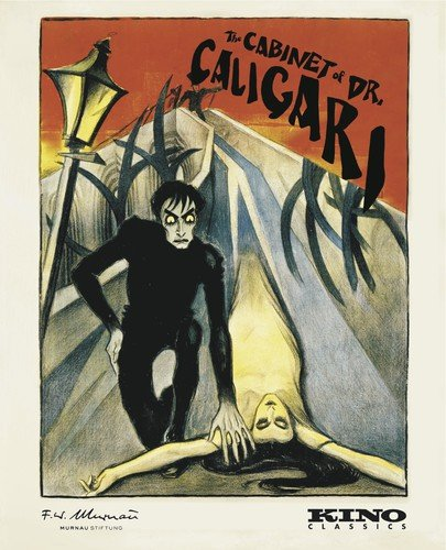 The Cabinet of Dr. Caligari (4K Restored) [Blu-ray] Conrad Veidt Werner Krauss Lil Dagover Friedrich Feher