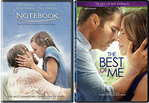 The Notebook + The Best of Me Romance Movie DVD Nicholas Sparks Set Double Love Twice as Much