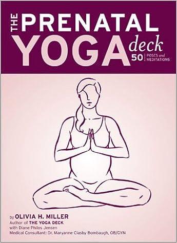 The Prenatal Yoga Deck: 50 Poses and Meditations: Olivia H ...