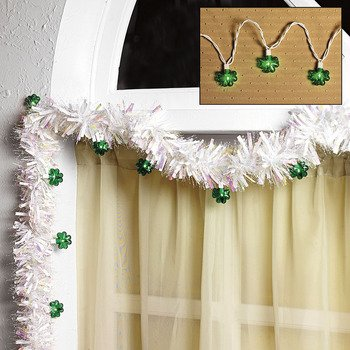 1 X Shamrock Light String - Indoor Lighting