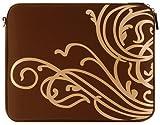 "Laurex 15.4"""" Notebook/Laptop Sleeve - Gold Wave Brown"