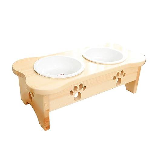 Cuencos para perros y gatos, Mesa de comedor para mascotas ...