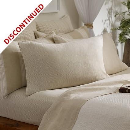 Diseño con texto en toalla Ralph Lauren para cama de matrimonio sábana - a rayas/