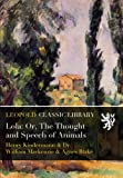 img - for Lola: Or, The Thought and Speech of Animals book / textbook / text book