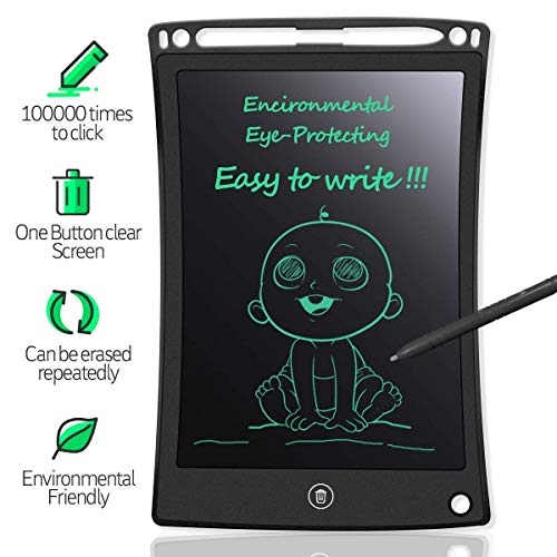 Kanget Ultra-Thin LCD Portable Rewritable Erasable Paperless Memo Writing Tablet Ruff Pad E-Writer Digital Drawing Board with Pen (B082H4J7RX) Amazon Price History, Amazon Price Tracker