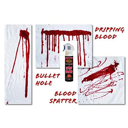 Fake Blood Spray Paint 2 5oz Toys And Games Amazon Com