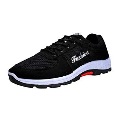6d3506cb40fc Amazon.com: ANKOLA FANS SHOP Women's Walking Shoes Mesh Casual ...