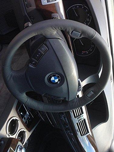 RedlineGoods BMW 7-series E65 2001-08 cubierta del volante 3 de