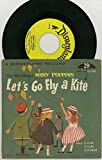 Walt Disney's Mary Poppins 45rpm Little Gem Record LG-783 - Let's Go Fly A Kite & Chim Chim Cheree