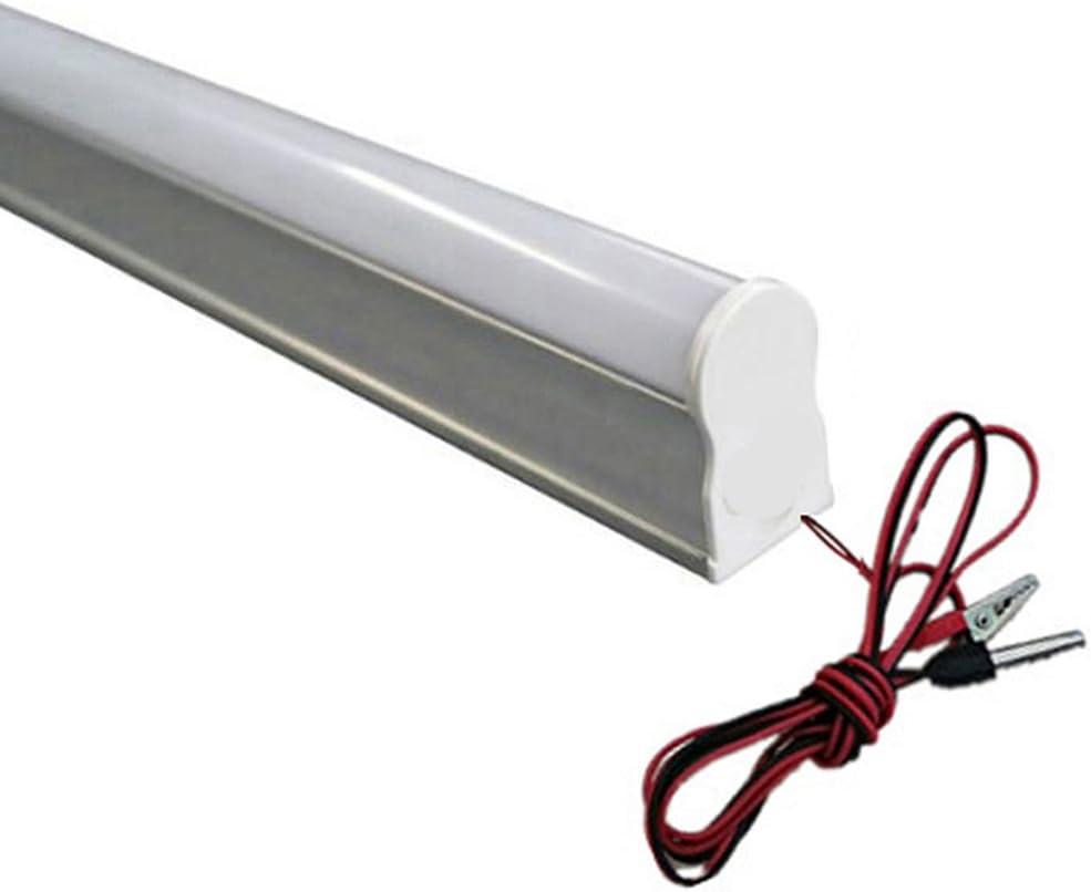10pcs 3años de garantía 100–110lm/W 9W DC12V LED tubo T512V 600mm 2ft lámpara fluorescente luz luces blanco frío 6000K