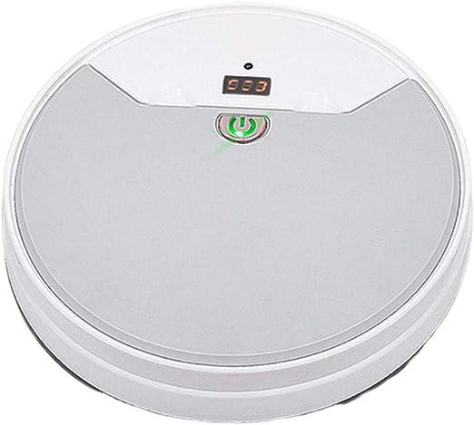 Shiwaki 1800PA 50 mL 3W Aspirador Robot, Agregue Agua para Trapear ...