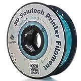 3D Solutech Teal Blue 1.75mm 3D Printer PLA Filament 2.2 LBS (1.0KG) - 100% USA