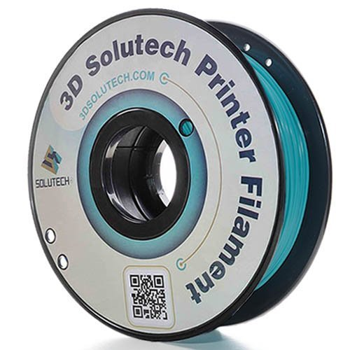 3D Solutech Teal Blue 3D Printer PLA Filament 1.75MM Filament, Dimensional Accuracy +/- 0.03 mm, 2.2 LBS (1.0KG) - 100% USA by 3D Solutech