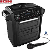 Ion Audio Pathfinder Charger, Bluetooth Portable Speaker with Wireless Qi Charging- (Renewed)