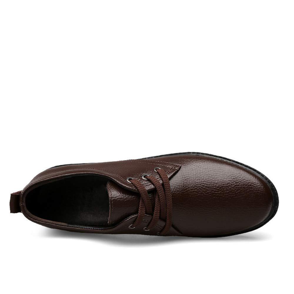 2018 scarpe da uomo d'affari di Oxford, casuali casuali casuali lace Genuine Leather pattini superiori bassi formale classico dritto (colore  Nero, Dimensione  47 UE) ( colore   Marrone , Dimensione   38 EU ) 7ff2f8