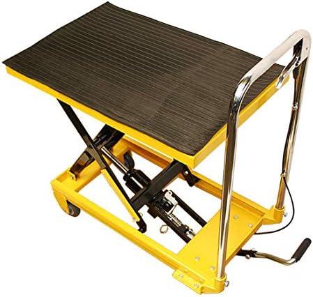 MH GLOBAL Hydraulic Table Lift 330 Lbs Capacity