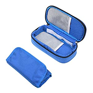 Kloud City ® Portable Diabetic Organizer Cooler Bag Medical Travel Camping Ice Case for Insulin,Testing Supplies