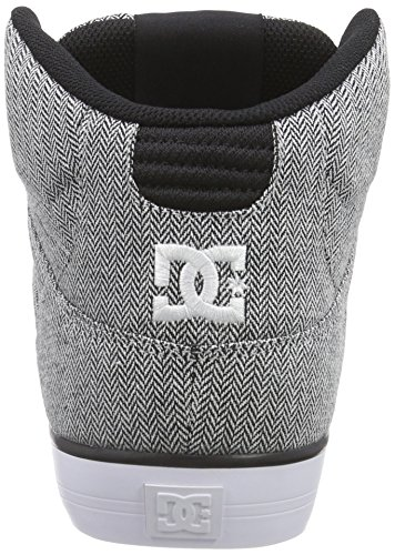 DC ShoesSPARTAN HIGH WC M SHOE - Zapatillas hombre gris - Grau (Grey/Grey/Black XSSK)