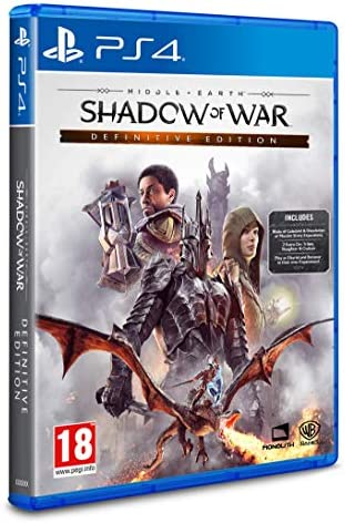 Middle Earth: Shadow of War Definitive Edition - PlayStation 4 ...