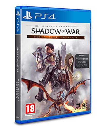Middle Earth: Shadow of War Definitive Edition (PS4) (Middle Earth Shadow Of War Pc Gold Edition)