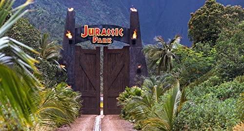 002 Jurassic Park 45x24 inch Silk Poster Seda Cartel Aka ...