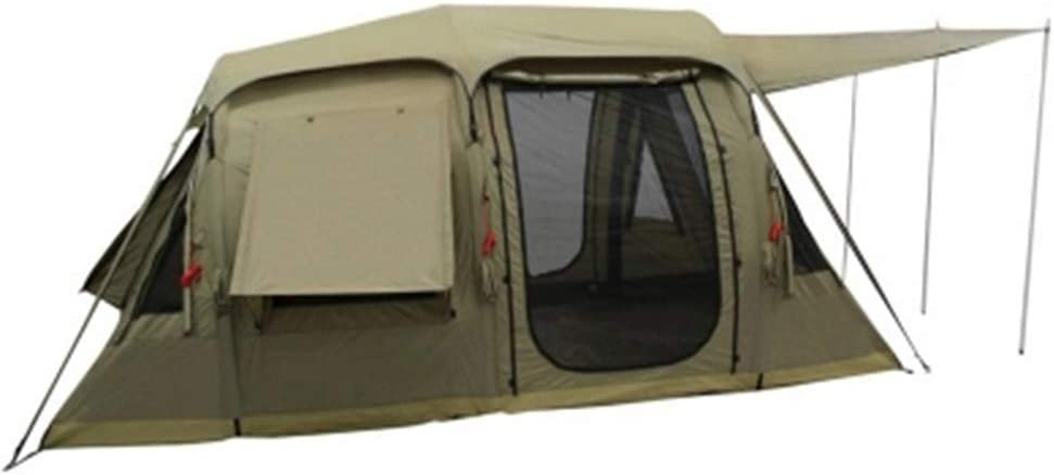 LIU DA 棒の空気コラムのないテント屋外の膨脹可能なテントキャンプ2部屋および1ホール (Color : 褐色, Size : 480*280*215cm) 褐色 480*280*215cm