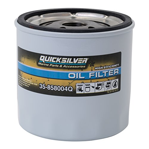 High Performance Oil Filter - MerCruiser Stern Drive and Inboards Engines (Mercruiser Stern Drive Motor)