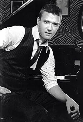 "Justin Timberlake Poster Piano (24""x36"")"