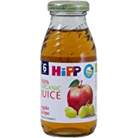 Hipp Organic Apple Grape Juice Glass, 200ml