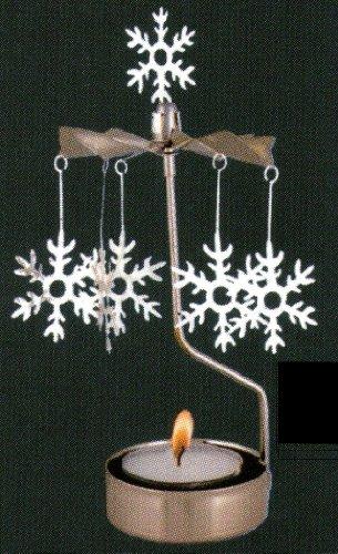 Snowflake Rotary Candleholder (Snowflake Candle Holders)