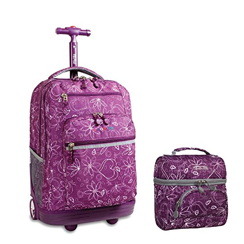 j-world-new-york-rolling-backpack-lunch-bag-back-to-school-bundle-set-sundance-corey-love-purple