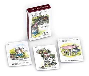 Gibson Games - Juego de Cartas Alicia En El País De Las Maravillas (Globalgifts G677) (versión en inglés)