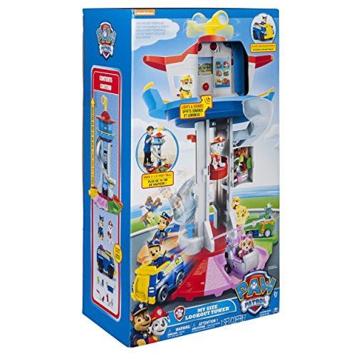 PAW Patrol My Size Lookout Tower with Exclusive Vehicle, Rotating Periscope & Lights & Sounds by Nickelodeon (Image #11)