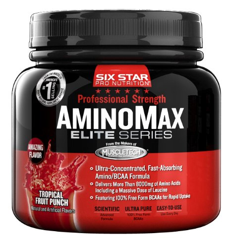 Six Star Pro Nutrition Amino Max PS, Fruit Punch tropical, 9,63 once