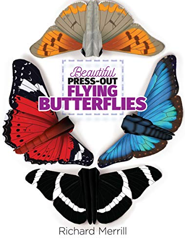 Beautiful Press-Out Flying Butterflies]()