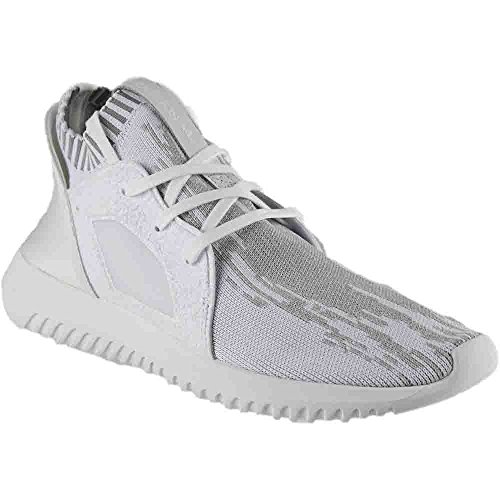 adidas Women's Tubular Defiant PK W Originals Ftwwht/Ftwwht/Cgrani Running Shoe 5.5 Women US