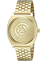 Nixon Men's 'Time Teller SW, C-3PO Gold' Quartz Stainless Steel Casual Watch (Model: A045SW-2378-00)